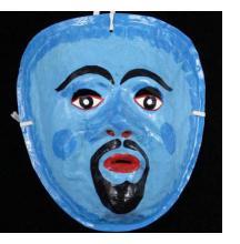 Peruvian Carnival Masks from Ayacucho