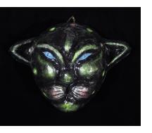 Green Jaguar Carnival Mask