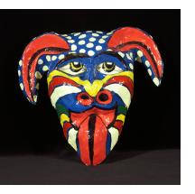 Multicolor Diable Mask