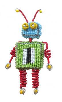 Robot Ornament #3
