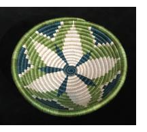 Green Starburst basket