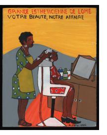 Grande Estheticienne de Lomé - Mini Signboard