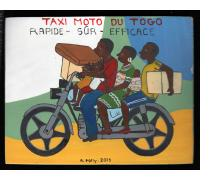 Taxi Moto du Togo - Mini Signboard