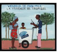 Vendeur de Fan Milk - Mini Signboard