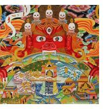 ibetan and Nepali Thangka Artists