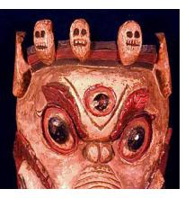Masks from Tibet