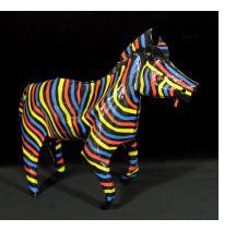 Painted Zebra (large size)