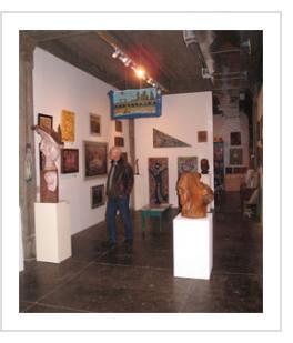 Appalachian Visionaries opening. Oct. 13, 2011