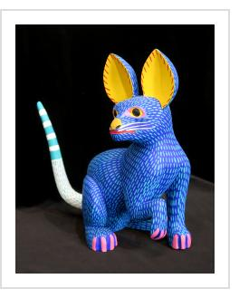 Perro Azul - Armando Jimenez (Oaxaca, Mexico)