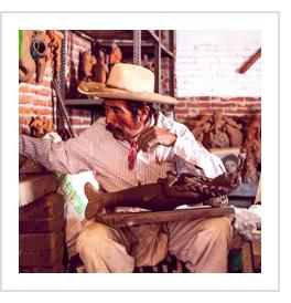 José Garcia Antonio (photo courtesy of International Folk Art Market)