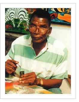 Omary Amonde, c.2000 (photo courtesy of Yves Goscinny in Art in Tanzania 2000).