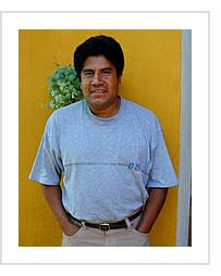 Enrique Flores - Oaxaca, 2002 (Photograph © Anthony Hart Fisher)