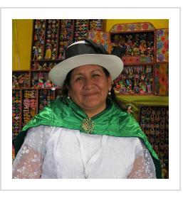 Eleudora Jimenez in Santa Fe.  July, 2019 (Photograph © Anthony Hart Fisher 2019).