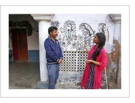 Shantanu Das and Mahalaxmi Karn (courtesy of Tricia Taormina - atlasobscura.com)