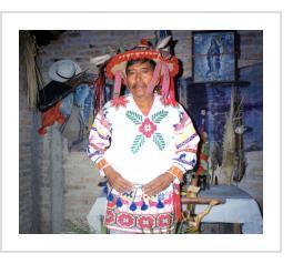 Huichol Artist/Shaman José Benitez Sanchez