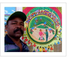 Angel Llopiz Martinez, 2017 (photo courtesy of International Folk Art Alliance).
