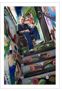 Mario Mesa (photo courtesy of Art Found Out)