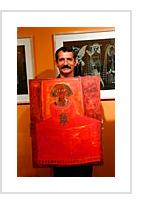 José Garcia Montebravo with La Infanta de Filadelphia at Indigo Arts, Philadelphia, Pa, July 17, 2002 ( Photograph © Anthony Hart Fisher)