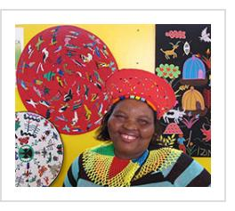 Nomvuselolo LadyPeace Mavundla in 2015.