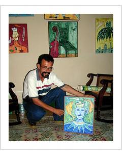 Jorge Sanfiel. Havana, November, 2003