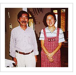 Shinzaburo Takeda and Tamako Takeda - Oaxaca, Mexico, 2002 (Photograph © Anthony Hart Fisher)