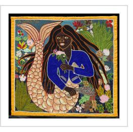 La Sirene - Vodou Flag
