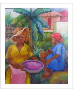 Les Marchandes - Dieudonné Cedor (Haiti)