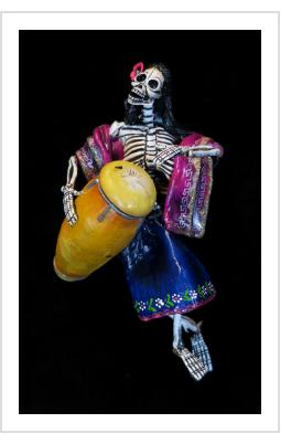 Drummer of the Dead - retablo figure