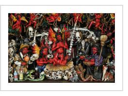 Calaveras:  Peruvian Retablos for Los Dias de los Muertos