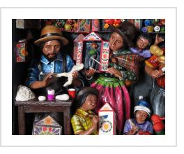 "Retablo Shop by Claudio Jimenez in ""Andes/Amazon:  Two Worlds in Peruvian Folk Art"""