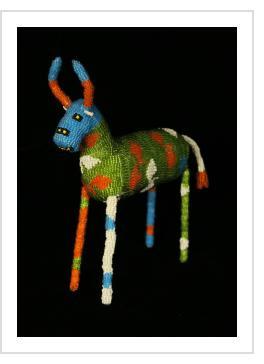 Beaded Antelope