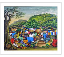 Market Day - Ezène Domond (Haiti) 1969