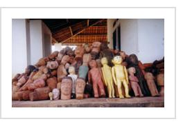 An enormous collection of Milagre ex-votos collected by a doctor in the states of Ceará and Pernambuco, northeastern Brazil.... bodies,