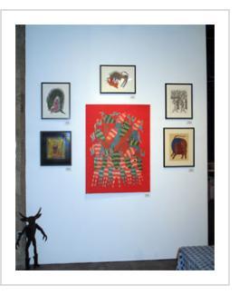 Gond and Beyond Exhibit at Indigo Arts. April 11, 2013