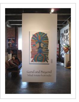 Gond and Beyond Exhibit at Indigo Arts. April 11, 2013