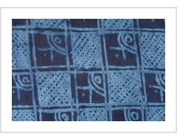 """OK & Matches"" Yoruba Indigo Resist-dye ""Adire Eleko"" Cloth"