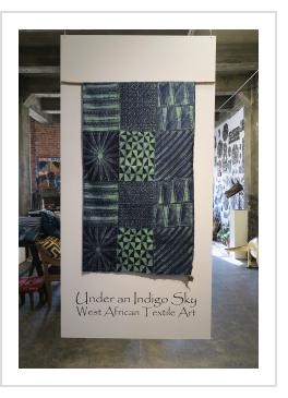 Under an Indigo Sky: West African Textile Art