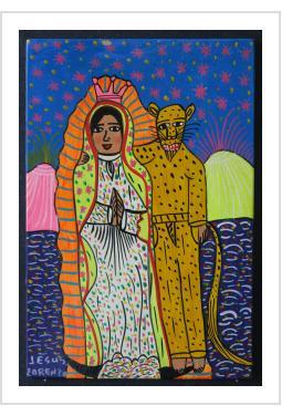 La Virgen con el Tigre