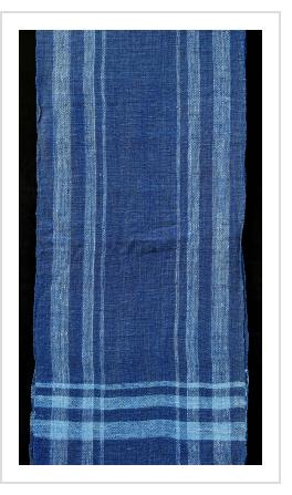 Indigo Scarf/Runner from Laos