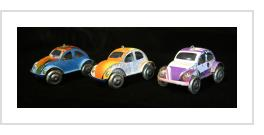 Madagascar Volkswagen Beetle Ornament