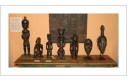 African sculpture at Indigo Arts Gallery November 5, 2004