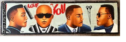 """""""I Love You"""" Barber Sign"""