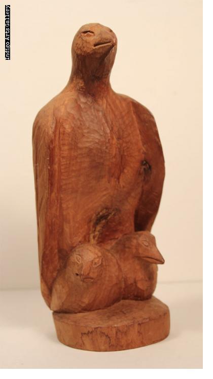 Andre Dimanche wood sculpture