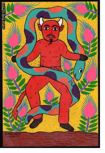 El Diablo con Culebra