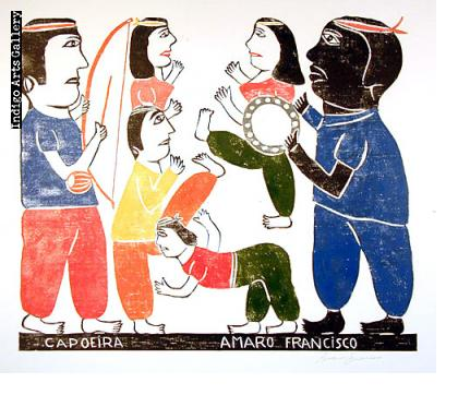 Amaro Francisco Borges - Capoeira