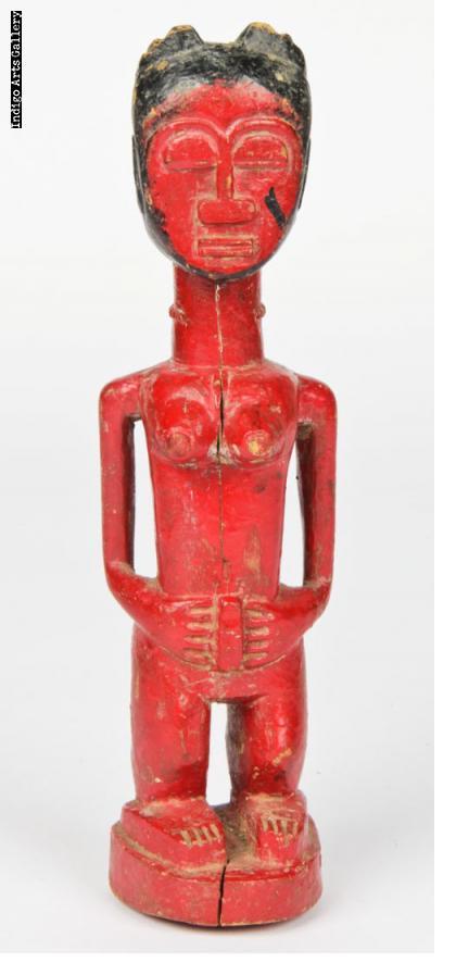 Guro/Baule Spirit Figure