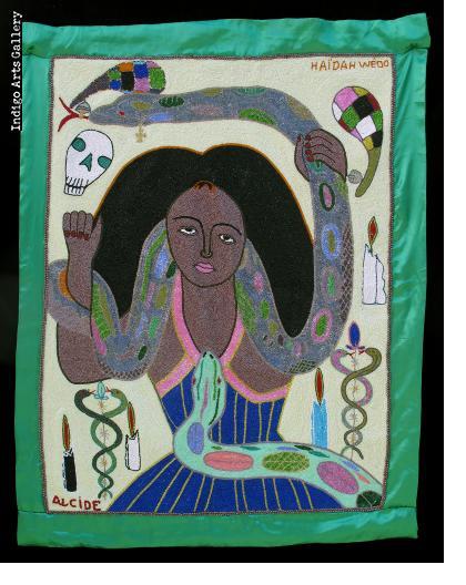 Haidah Wedo (Mamy Wata) - Vodou Flag