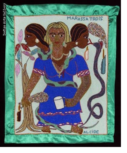 Marassa Trois Vodou Flag