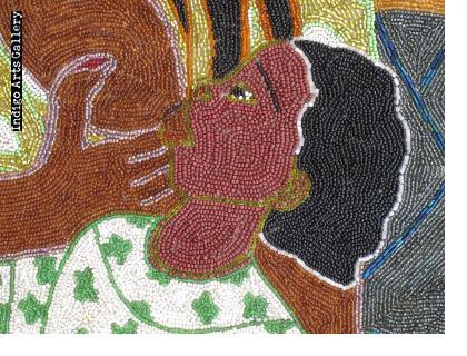 La Sirene Matenel - Vodou Flag