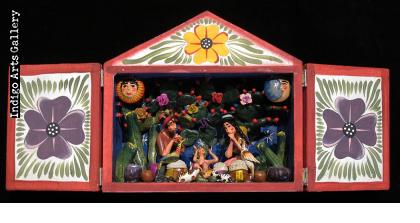 Nacimento (Nativity) Retablo